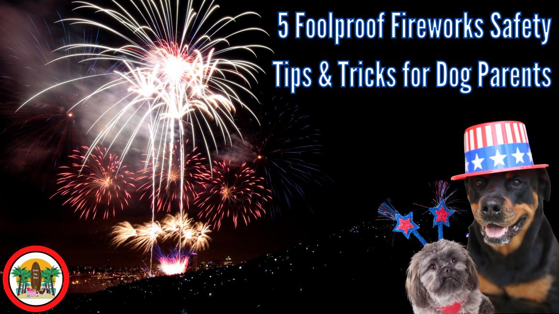 5 Foolproof Fireworks Safety Tips & Tricks for Dog Parents